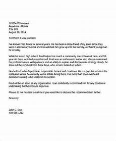 Immigration Reference Letter For A Friend Example 12 Immigration Reference Letter Templates Word Pdf