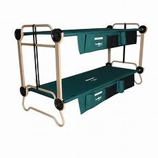 disco bed o bunk bed with 2 organizer leg extension