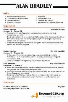 Modern Sales Resume Examples 2020 Latest Resume Format 2020 Templates Resume 2020