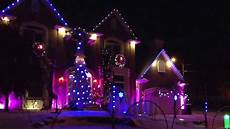 Wizards In Winter Christmas Lights House Wizard In Winter 2013 Christmas Light Show Youtube