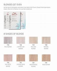 Wella Toner Chart Wella Color Charm Get Even Hair Toner
