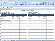 Online Bill Organizer Spreadsheet Monthly Bill Organizer Bill Tracker By Timesavingtemplates