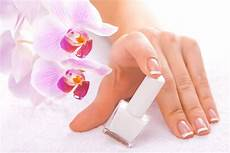 Download Nail Salon Manicure With Orchids Background Gallery Yopriceville