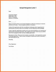How To Write A Professional Resignation Letter 11 Professional Letter Of Resignation Marital