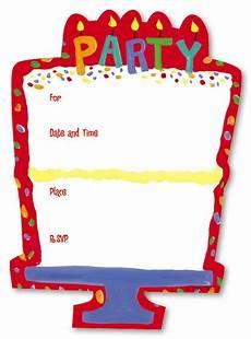 Blank Birthday Invitation Templates Free Diy Blank Birthday Invitations Bagvania
