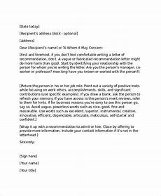Professional References Template 16 Professional Reference Letter Template Free Sample