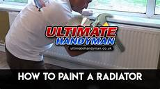 How To White Paint How To Paint A Radiator