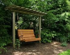 pergola swing cedar royal highback porch swing