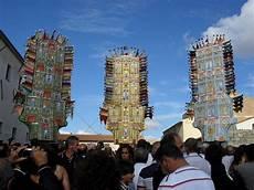 candelieri di nulvi i candelieri di nulvi tutto pronto per la sfilata 14