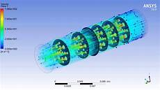 Catalyte Ic Design Cfd Analysis Of Exhaust Flow In Catalytic Converter Youtube