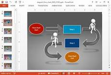 Ppt Flow Chart Template Animated Diagram Flow Chart Powerpoint Template