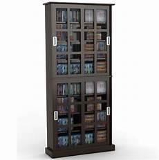 atlantic windowpane 720 cd dvd media storage cabinet in
