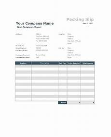 Packing Slip Example 10 Packing Slip Examples Doc Xls Examples