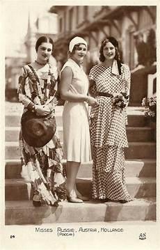 1930 miss russia austria holland l esprit swing s