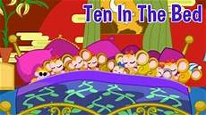 ten in the bed aka roll nursery rhyme with lyrics