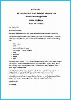 Auto Mechanic Cover Letter Writing Your Great Automotive Technician Resume