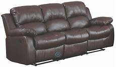 cranley brown reclining sofa from homelegance
