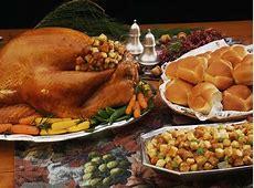 Richmond restaurants serving Thanksgiving dinner 2017