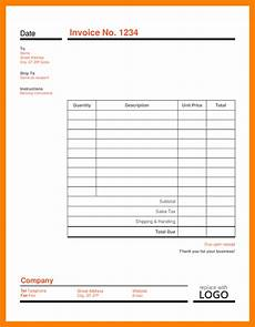 Invoice Template Editable 10 Editable Invoice Template Ledger Review
