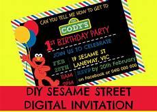 Free Digital Invitation Maker How To Make A Sesame Street Digital Invitation Includes