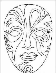 Malvorlage Karneval Maske Masken Ausmalbilder Ausmalbilder F 252 R Kinder Masken Zum