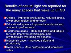 Benefits Of Natural Light In The Classroom Introducing Natural Light To East Tennessee State University