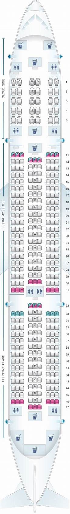Airbus A350 900 Seating Chart Seat Map Ethiopian Airbus A350 900 Seatmaestro