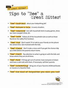 Fun Babysitting Ideas Babysittingkit Tips Pdf Google Drive Babysitting Jobs