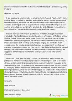 How To Write A Recommendation Letter For Green Card Eb1 Personal Statement Example