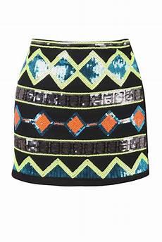 Aztec Design Skirts Aztec Print Skirt