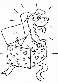 kostenlose ausmalbilder und malvorlagen hunde zum