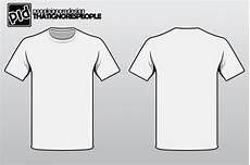 Tshirt Template T Shirt Template Vector