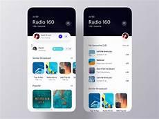 App Ui Broadcasting Ios App Ui Exploration On Behance