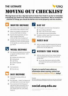 To Do Lists For Moving The Ultimate Moving Out Checklist