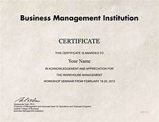 Fake Course Certificate Fake Warehouse Management Diploma Diploma Outlet