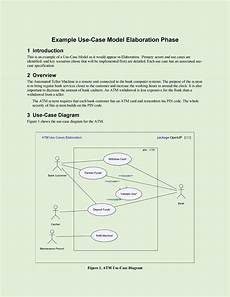 Use Case Template Word 40 Use Case Templates Amp Examples Word Pdf ᐅ Templatelab