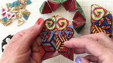 contemporary geometric beadwork the flower join for