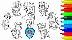paw patrol coloring book marshall rocky