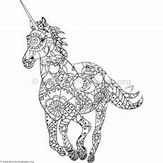unicorn mandala coloring pages part 4 free resource