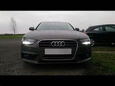 Audi A4 B8 Led Lights Retrofit Audi A4 B8 Drl Led Upgrade 2013 Facelift Version Youtube