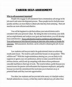 Sample Self Assessment For Work Free 41 Self Assessment Examples Amp Samples In Pdf Doc