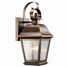 Kichler Outdoor Wall Light Kichler Lighting Mount Vernon Outdoor Wall Light 9707oz