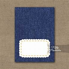 tent cards template retirement denim blank place cards or tent cards nifty printables