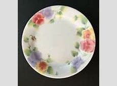 Discontinued Corelle Pansy Dinnerware