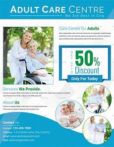 Home Care Flyer Day Care Center Flyer Design Template In Psd Word