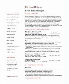 Sales Manager Sample Resumes Sales Manager Resume Template 7 Free Word Pdf