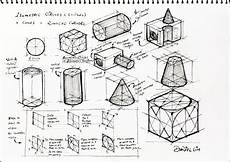 Architecture Design Drawing Techniques Design Journal Sos Drawing Basics Isometric Drawing