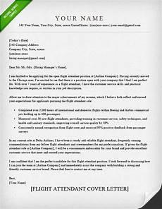 Flight Attendant Cover Letter Samples Flight Attendant Cover Letter Sample Resume Genius