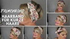 kurzhaarfrisuren stylen damen anleitung palmenkind haarband hedjis kurzhaarfrisur stylen