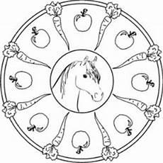 Malvorlagen Mandalas Pferde Pferde Mandala Kostenlos Mandala Kostenlos Mandala